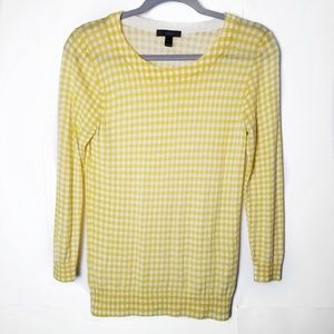 J Crew | Tippi Sweater in Gingham